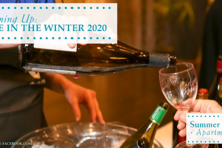 Coming Up: Wine in the Winter 2020