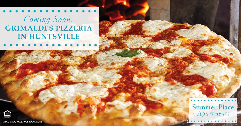 Coming Soon: Grimaldi's Pizzeria in Huntsville